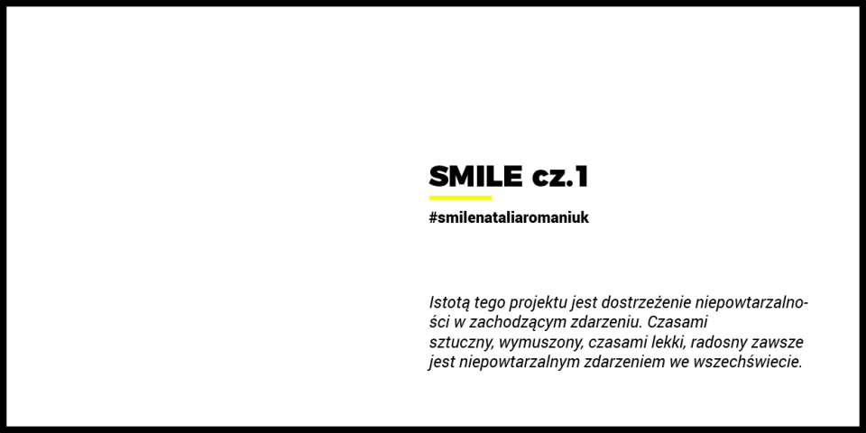 Natalia Romaniuk #SMILE cz.1