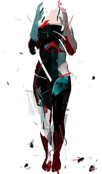 Natalia Romaniuk - de_rekonstruckja tożsamości 2 (grafika, druk pigmentowy)