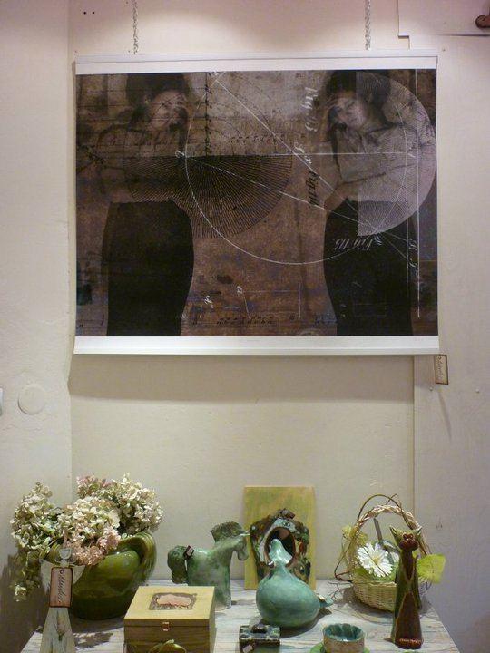 Natalia Romaniuk - wystawa, figura 2 (grafika)