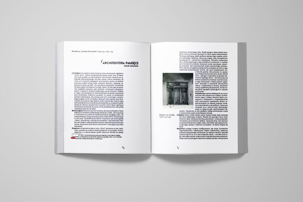 Jan Szmatloch Architektura pamięci 3